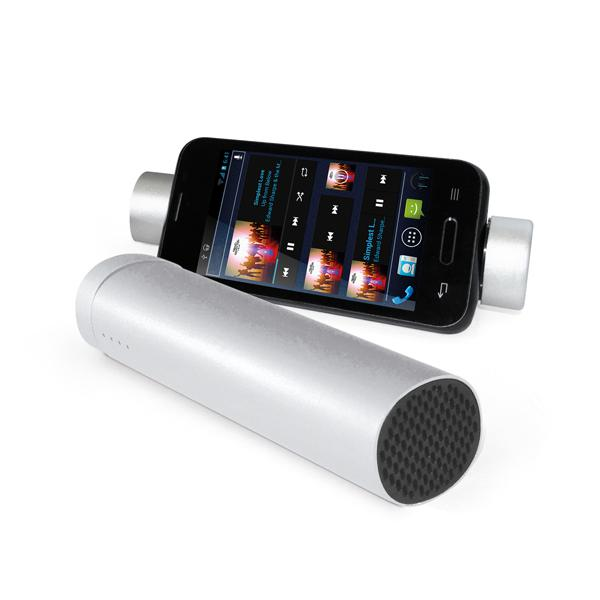 Power bank. Portable battery. ABS. Lithium battery. With speaker